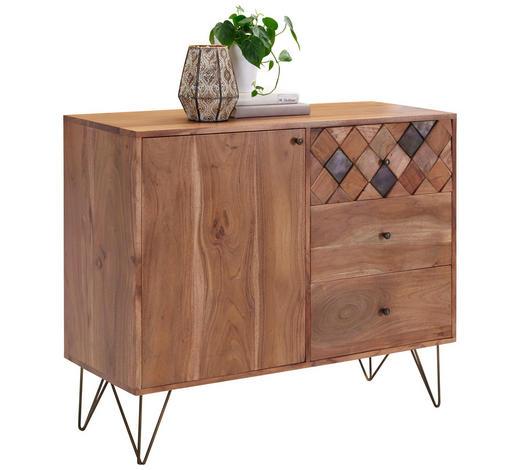 KOMMODE 105/88/40 cm - Messingfarben/Bronzefarben, Trend, Holz/Metall (105/88/40cm) - Ambia Home