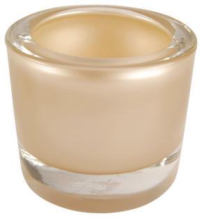 LJUSLYKTA - mullvadsfärgad/gråbrun, Design, glas (6,5/5,7cm)