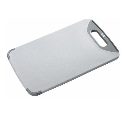 SCHNEIDEBRETT - Grau, Design, Kunststoff (32/20/1cm) - Silit