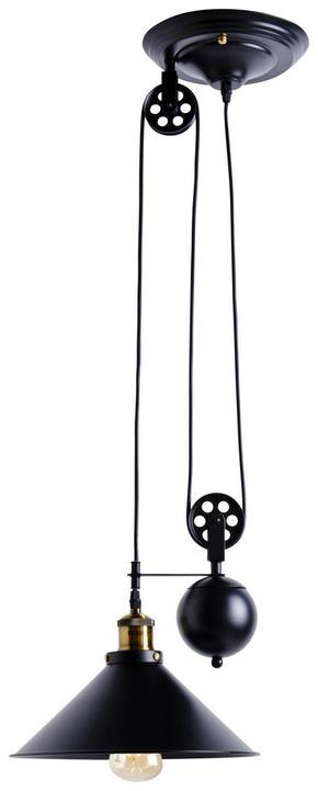 TAKLAMPA - svart, Lifestyle, metall (30/90-180cm)