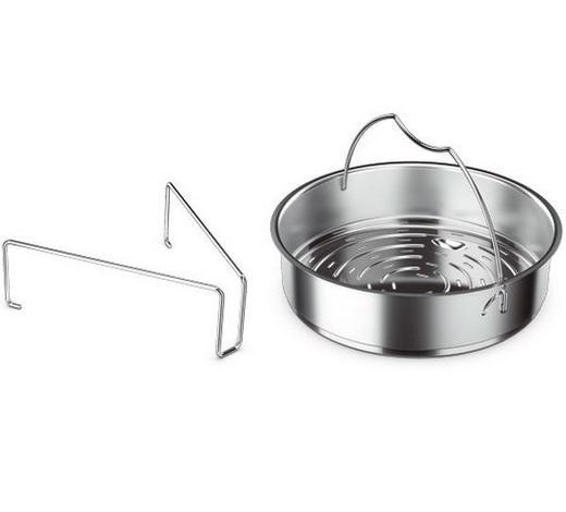 DAMPFEINSATZ  - Silberfarben, Basics, Metall (22cm) - Fissler