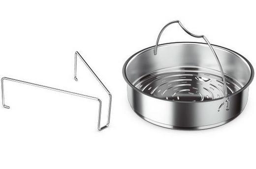 VLOŽEK ZA KUHANJE NA PARI - srebrna, Basics, kovina (22cm) - Fissler