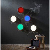 LED-DECKENLEUCHTE - Weiß, Design, Kunststoff/Metall (30/10cm)