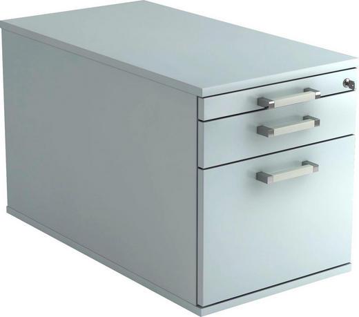 ROLLCONTAINER Grau - Chromfarben/Grau, KONVENTIONELL, Kunststoff/Metall (42,8/51,2/80cm)