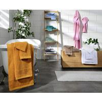 Handtuch 50/100 cm  - Silberfarben, Natur, Textil (50/100cm) - Bio:Vio