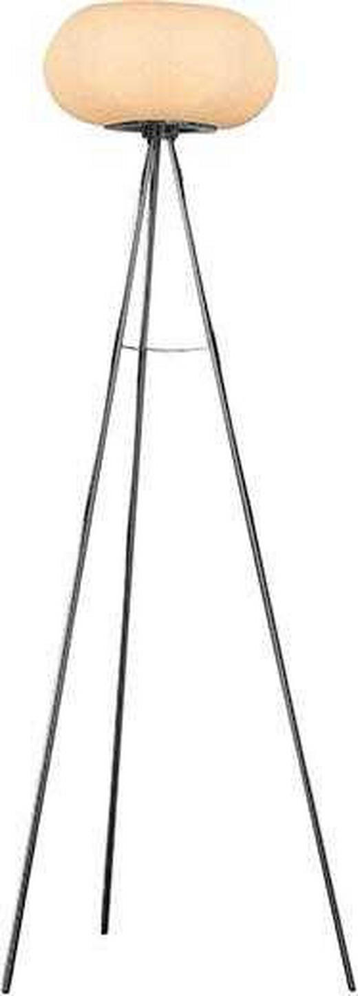STEHLEUCHTE - Weiß, KONVENTIONELL, Metall (35/157cm)