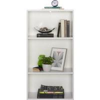 REGÁL - bílá/černá, Design, dřevěný materiál/umělá hmota (60/115,2/32cm) - Carryhome