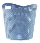 KORB - Blau, Basics, Kunststoff (27l)