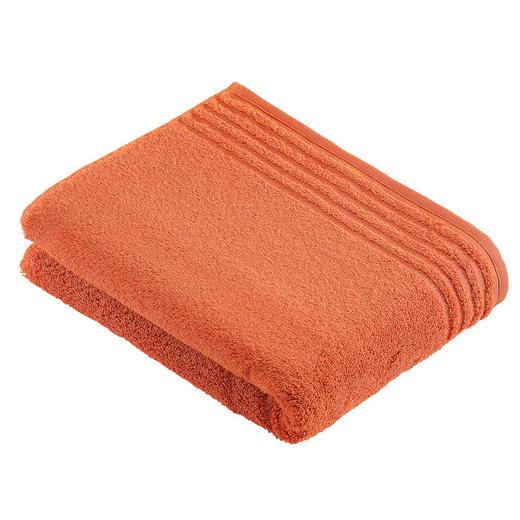 BADETUCH 80/160 cm - Orange, Basics, Textil (80/160cm) - VOSSEN