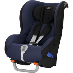 BRITAX MAX-WAY - blå/svart, Basics, textil/plast (45/64/64cm) - Römer
