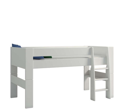 HOCHBETT 90/200 cm Weiß  - Weiß, KONVENTIONELL, Holzwerkstoff (90/200cm) - Xora