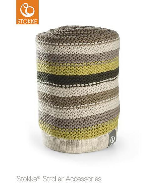 Babydecke - Multicolor, Basics (77/100cm) - Stokke
