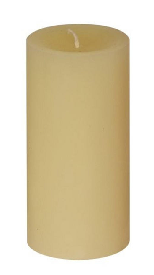 STUMPENKERZE 6,8/15 cm - Gelb, Basics (6,8/15cm) - Steinhart