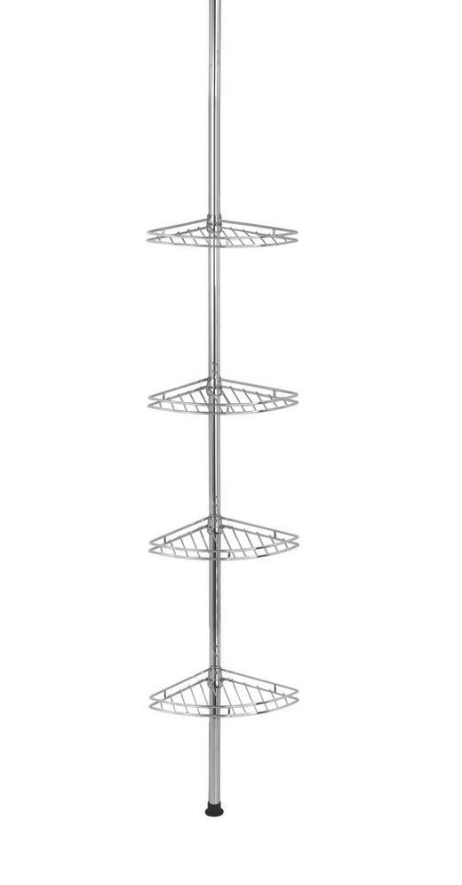 DUSCHREGAL - Chromfarben, Design, Metall (7.5/57/22.5cm)