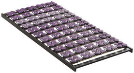 LATTENROST  80/190 cm  Buche Echtholz  - Wengefarben/Violett, Basics, Holz (80/190cm) - Novel