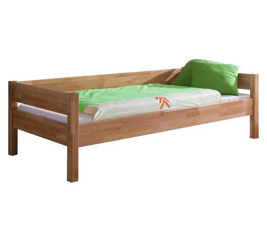 KINDER-/JUNIORBETT - Naturfarben, Design, Holz (90/200cm)