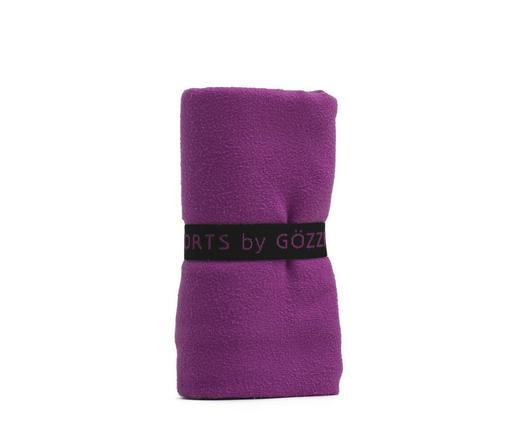 SPORTHANDTUCH 50/100 cm - Lila, Textil (50/100cm)