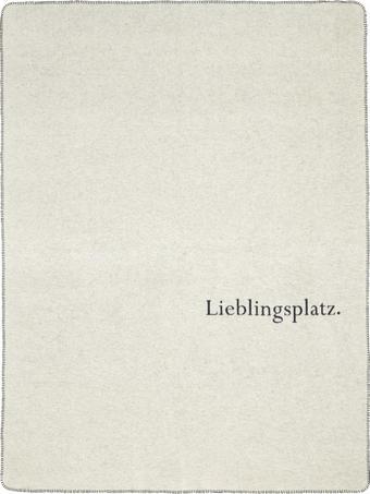 KUSCHELDECKE 150/200 cm - Blau/Weiß, Design, Textil (150/200cm) - David Fussenegger