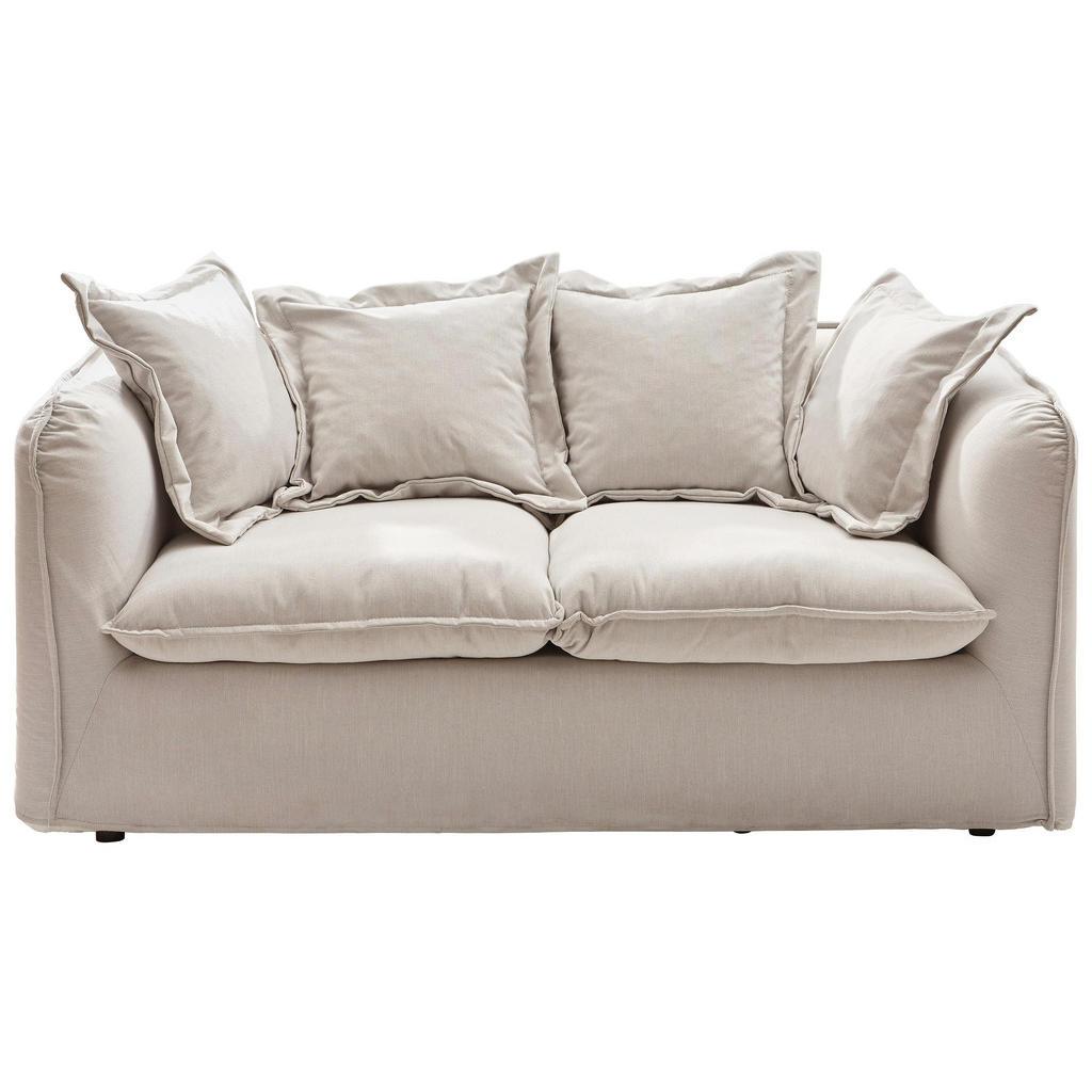 Stupendous Ambia Home Zweisitzer Sofa Webstoff Beige Forskolin Free Trial Chair Design Images Forskolin Free Trialorg