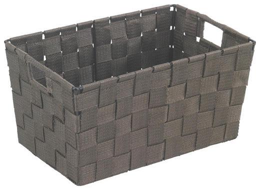 KORB - Braun, Kunststoff (30/20/15cm)