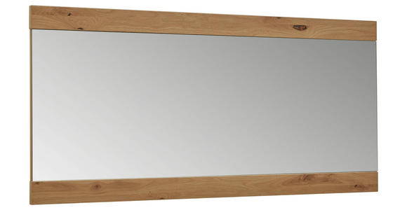 SPIEGEL 125/59/2 cm  - Eichefarben, Design, Glas/Holz (125/59/2cm) - Dieter Knoll