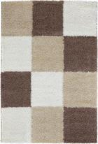 KOSMATINEC NICE LIFE - rjava, Design, tekstil (160/230cm) - Boxxx