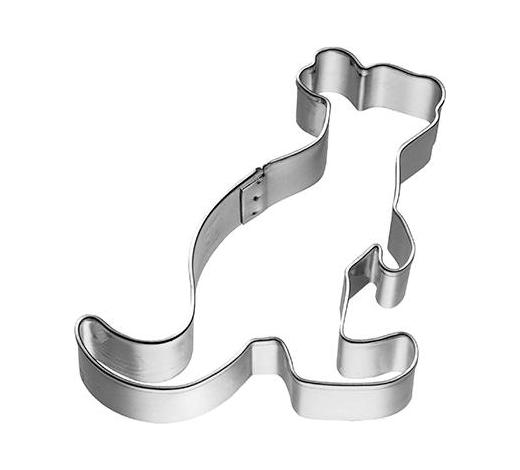 KEKSAUSSTECHFORM - Edelstahlfarben, Basics, Metall (6,5/6/2,5cm) - Birkmann