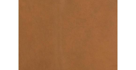 WOHNLANDSCHAFT in Leder Braun - Chromfarben/Braun, Design, Leder (180/280cm) - Voleo