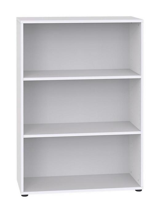 REGAL Weiß - Schwarz/Weiß, Design, Holzwerkstoff/Kunststoff (80/119/32.5cm) - Welnova