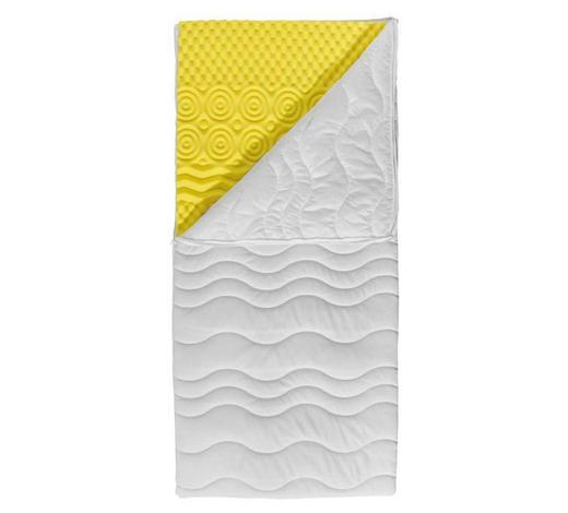 MATRATZENAUFLAGE - Weiß, Basics, Textil (100/200cm) - Centa-Star