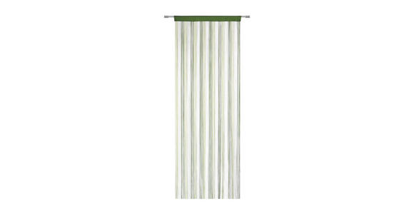FADENSTORE  transparent  90/245 cm - Naturfarben/Grün, Basics, Textil (90/245cm) - Boxxx