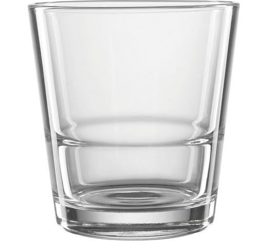 SKLENICE NA WHISKY - čiré, Basics, sklo (8,50/9,00cm) - Leonardo