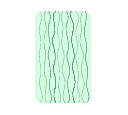 BADTEPPICH   50/60 cm - Design, Naturmaterialien/Textil (50/60cm) - Kleine Wolke