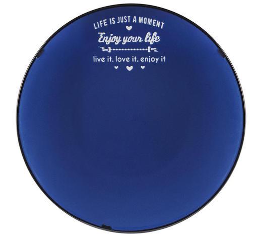 TALÍŘ JÍDELNÍ, kamenina - bílá/modrá, Lifestyle, keramika (26,7cm) - Landscape