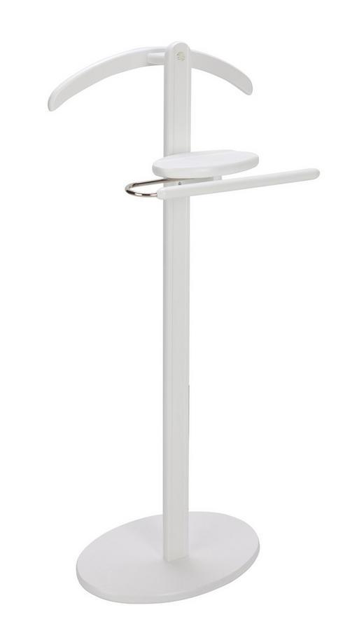 HERRENDIENER Weiß - Weiß, Design, Holz (45/103/25cm)