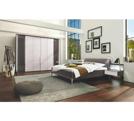 schlafzimmer braun wei braunwei design glastextil 180 - Schlafzimmer Dunkelbraun
