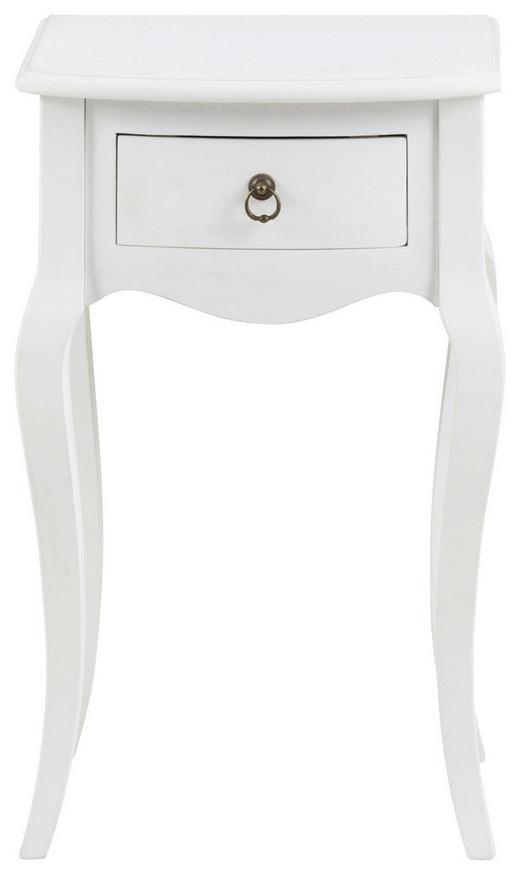 KONSOLENTISCH Weiß - Weiß, LIFESTYLE (38/62,5/31,5cm) - Carryhome