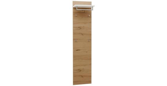 GARDEROBENPANEEL 42/183/27 cm  - Eichefarben/Weiß, Design, Holz/Holzwerkstoff (42/183/27cm) - Dieter Knoll