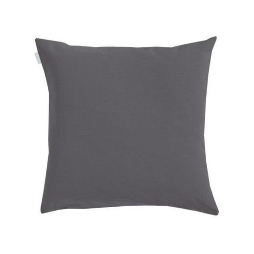 KISSENHÜLLE Grau 40/40 cm - Grau, Basics, Textil (40/40cm) - LINUM