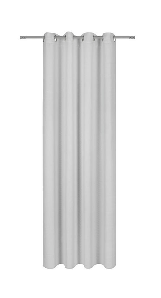 ÖSENVORHANG black-out (lichtundurchlässig) - Weiß, Basics, Textil (140/245cm) - Esposa