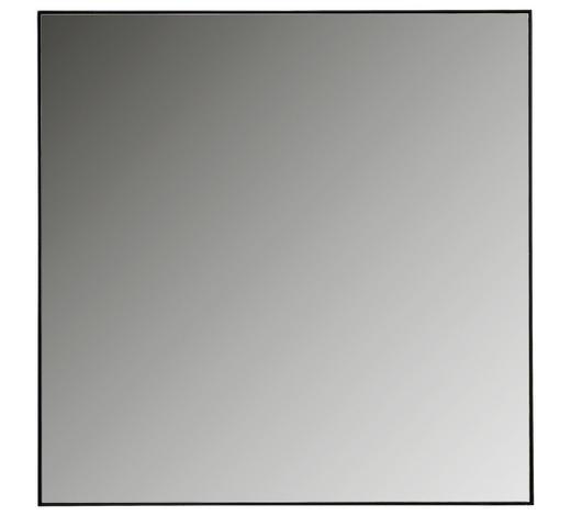 SPIEGEL 85/85/3 cm - Anthrazit, Natur, Glas/Metall (85/85/3cm) - Linea Natura