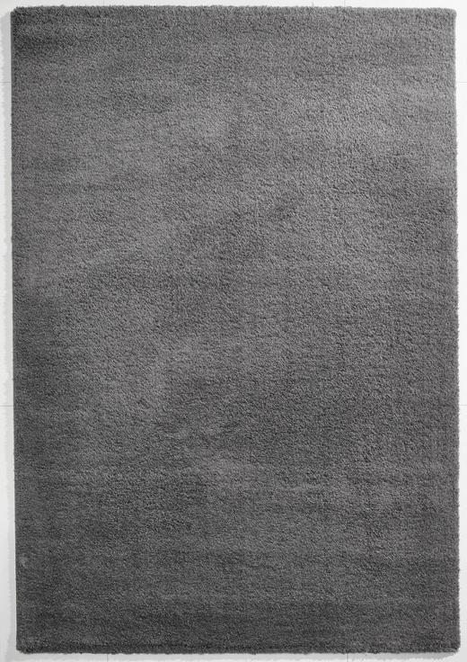 WEBTEPPICH  80/150 cm  Dunkelgrau - Dunkelgrau, Basics, Textil (80/150cm) - Novel