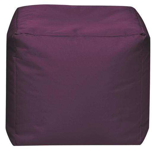 SITZWÜRFEL Aubergine - Aubergine, Design, Textil (40/40/40cm) - Carryhome