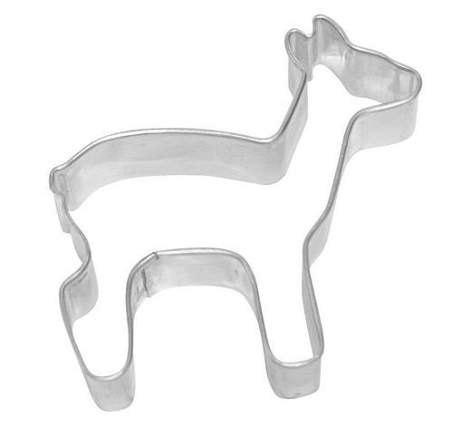 KEKSAUSSTECHFORM - Edelstahlfarben, Basics, Metall (7/2,2/6,5cm) - Birkmann