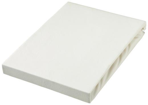 TOPPER SPANNBETTTUCH - Weiß, Basics, Textil (140-160/220cm) - Novel