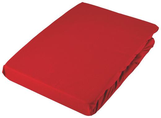 SPANNLEINTUCH 180/200 cm - Rot, Basics, Textil (180/200cm) - Fussenegger