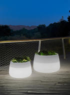 LED-AUßENLEUCHTE - Weiß, Design (59/39cm)