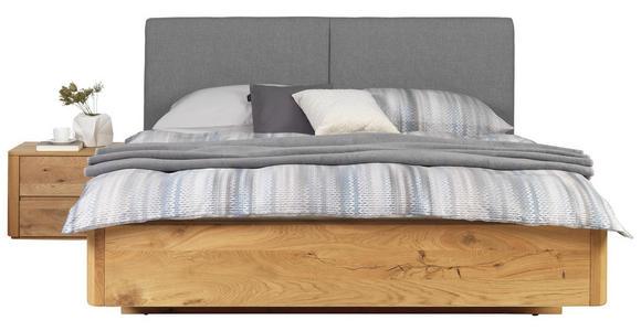BETT 180/200 cm  in Eichefarben - Eichefarben/Buchefarben, Natur, Holz/Textil (180/200cm) - Valnatura