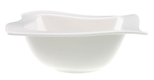 SCHALE Keramik Fine China - Weiß, Basics, Keramik (0,6l) - Villeroy & Boch