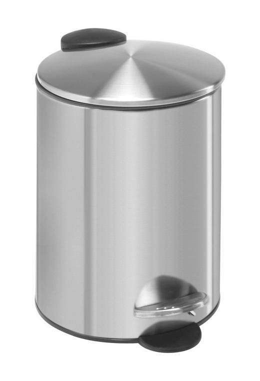 TRETEIMER Metall - Edelstahlfarben/Schwarz, Basics, Kunststoff/Metall (16,8/25cm) - Homeware